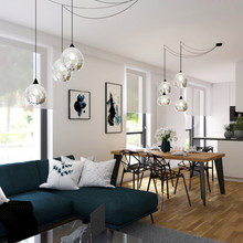 Návrh obývacího pokoje, Brno, Pisárky