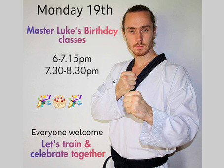 Master Luke's Birthday Class 🎉🎂