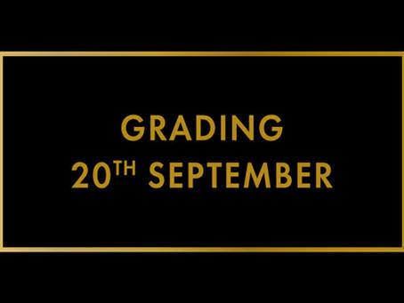 September Grading