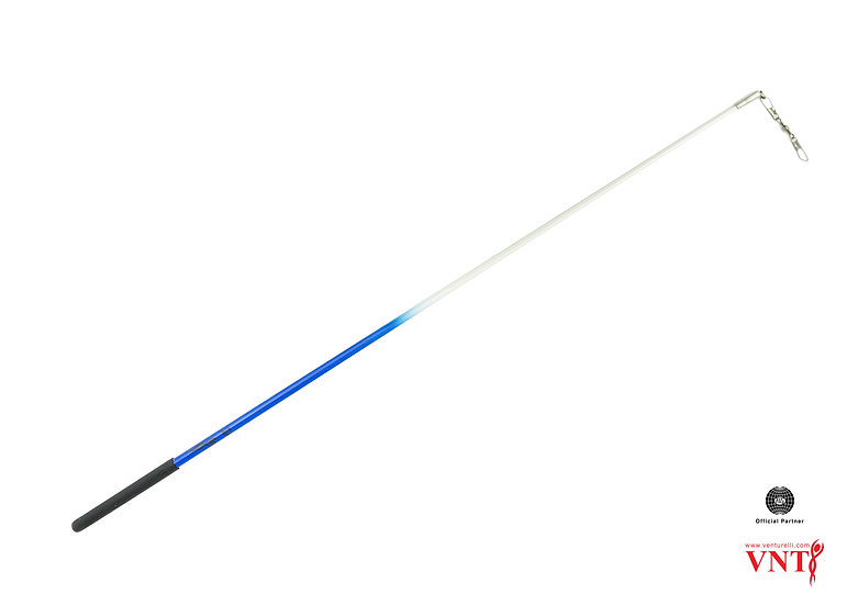 Venturelli 59cm FIG Ribbon Stick 2 Colour Neon + FREE Stick Case