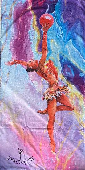 Large RG Towel Purple