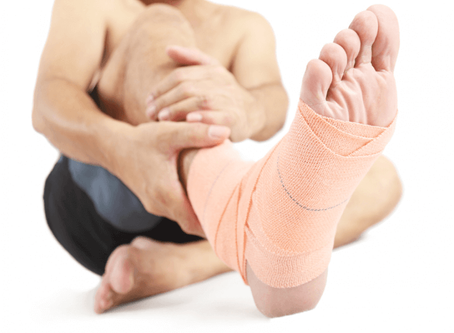 Ankle sprain: the most frequent acute trauma among dancers