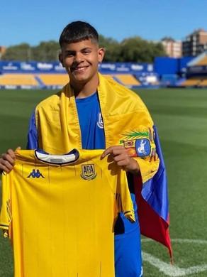 Leo Ortiz, AD Alcorcon mise sur le très prometteur jeune Vénézuélien !