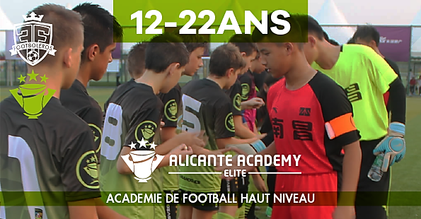 soccer academie in europe high lecel football alicante, spain