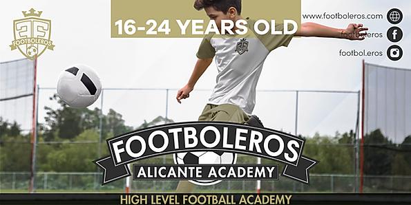 soccer academy spain alicante high level study