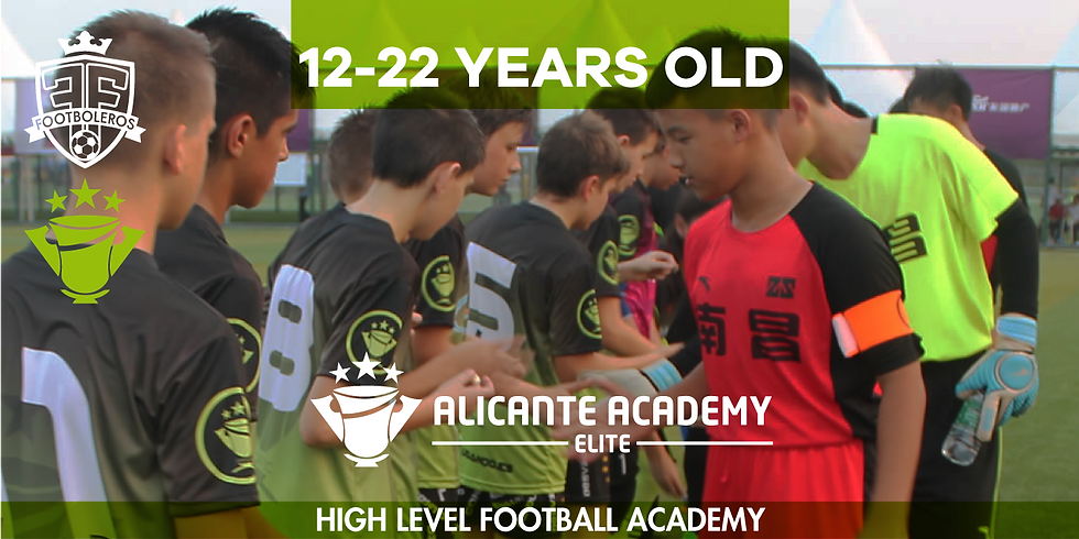 ALICANTE Academy Elite 15 - 22 Years old