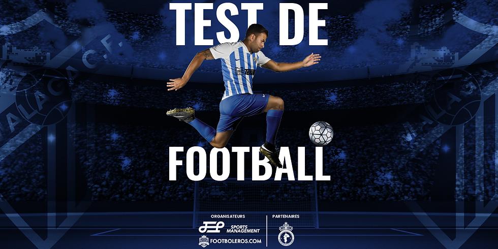 Test De Football MALAGA C.F - 1ère édition à Tanger