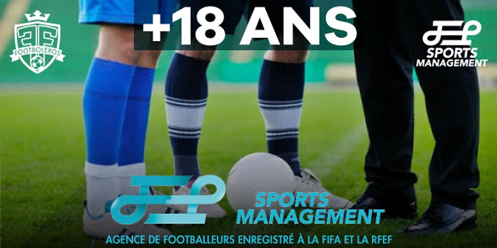 FORMATION AGENT DE FOOTBALLEURS AVEC STAGE