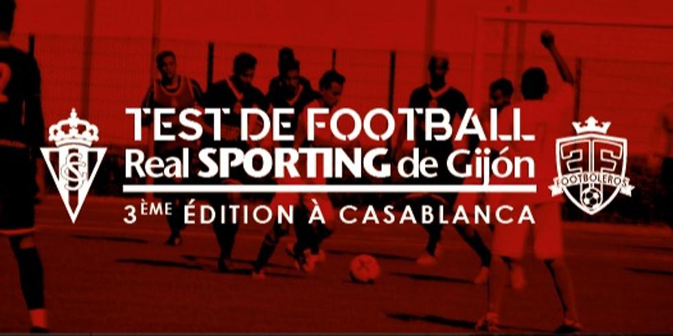 Test De Football Sporting de Gijon - 3 ème édition à Casablanca