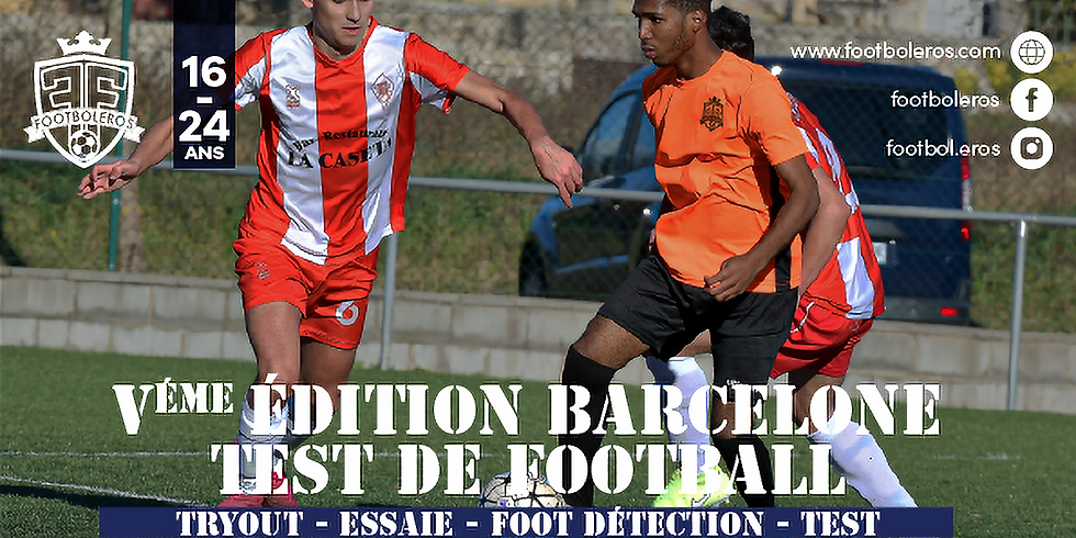 5th edition Barcelona Football Tryout