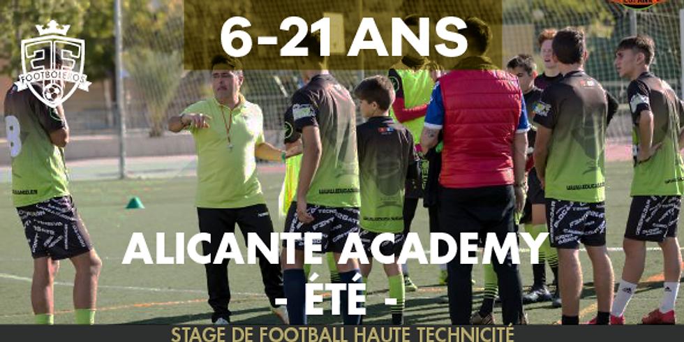 ALICANTE ACADEMY - été - 6 - 21 ANS - 6 dates (1)