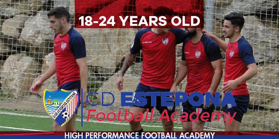 Media 1  EVENT NAME CD ESTEPONA International Academy 18 - 24 YEARS OLD