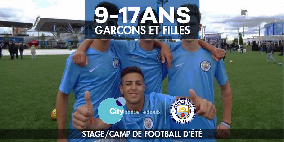 Manchester City Football Schools - Summer soccer Camp