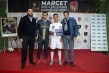 Mehdi Ben Abdessadak de Footboleros avec un des meilleurs du camp
