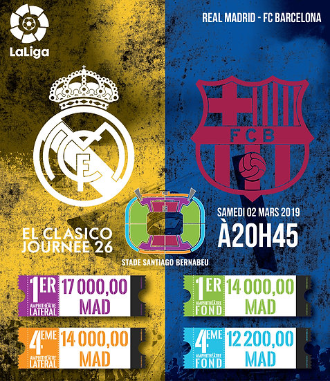 REAL MADRID - FC BARCELONA - LA LIGA - 02/03