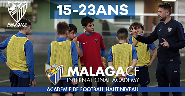academie de football en europe espagne malaga cf professionel