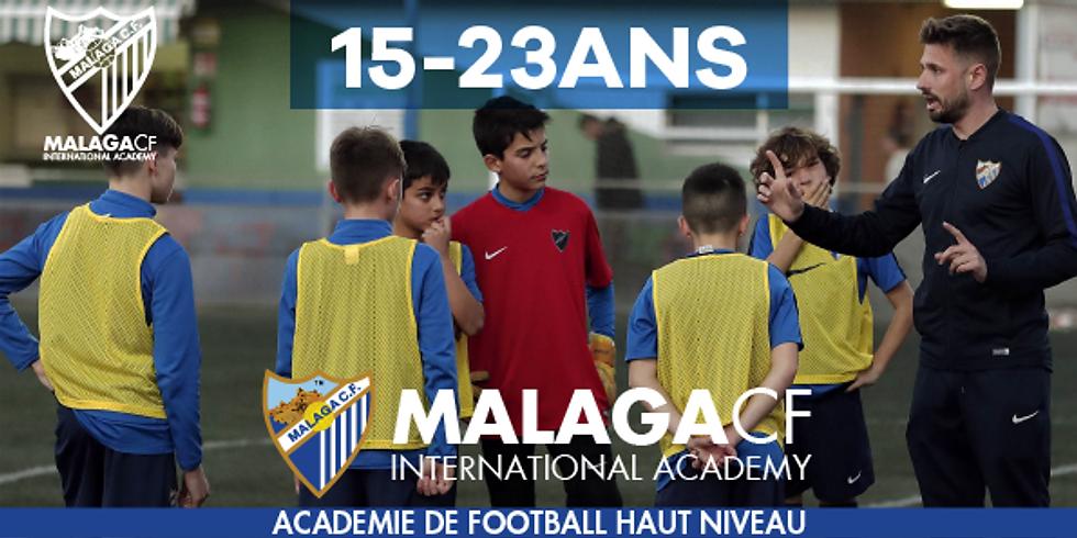 MALAGA CF International Academy  15 - 23 ANS