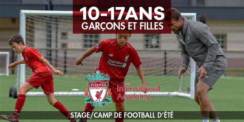 Liverpool FC International Academy - Summer football camp
