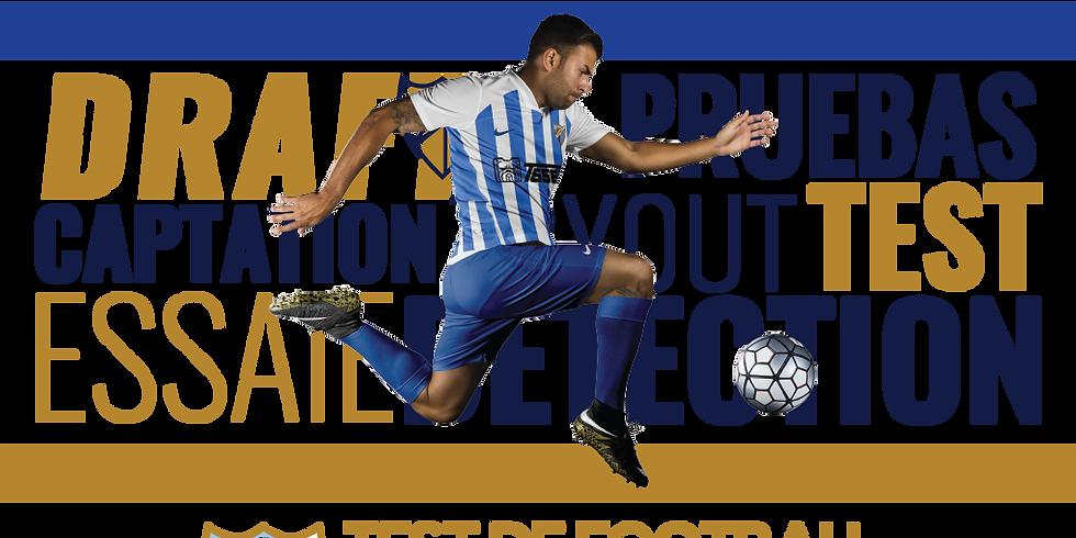 FOOTBALL TRYOUT MALAGA CF - MALAGA 16 - 24 YEARS