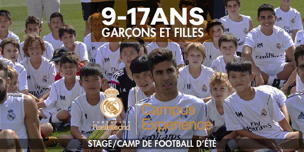 Real Madrid Campus Experience  - Camp de football d'été