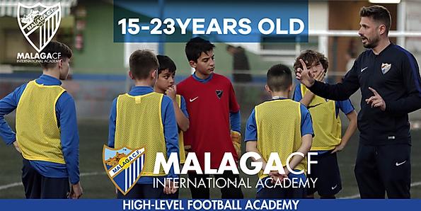 soccer academie in malaga spain high level malaga cf