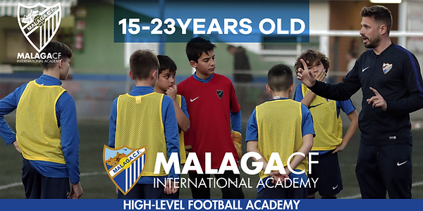 soccer academy in spain europe with malaga cf football opportunirty