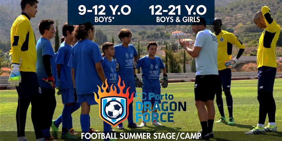 FC Porto Dragon Force - Summer football camp