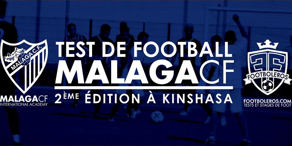 Test De Football Malaga C.F - 2 ème édition à Kinshasa