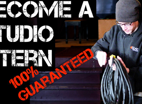 The Guaranteed Way To Become A Recording Studio Intern