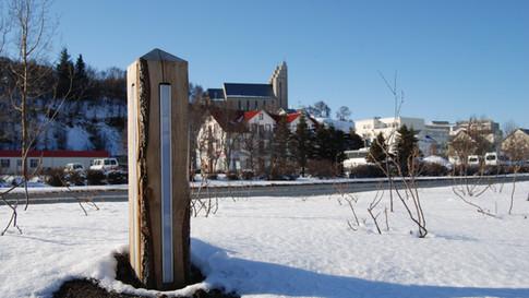 fjörustígurinn við Drottningarbraut