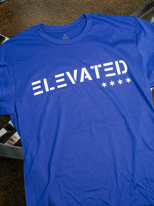 Elevated Men's Royal Blue / White logo