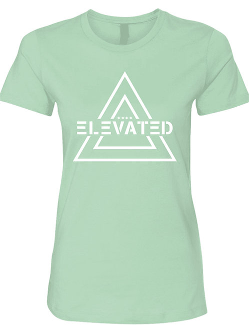 Elevated women's mint tee