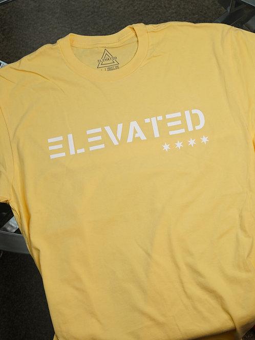 Elevated Men's Banana Cream/White logo