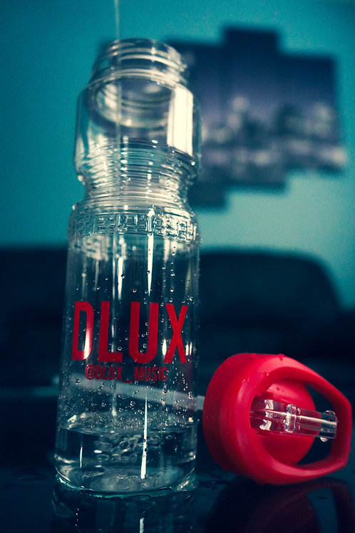 """Dlux """"Stay hydrated"""" water bottle"""