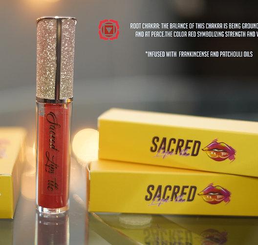 """""""Root Chakra"""" tinted lipgloss"""