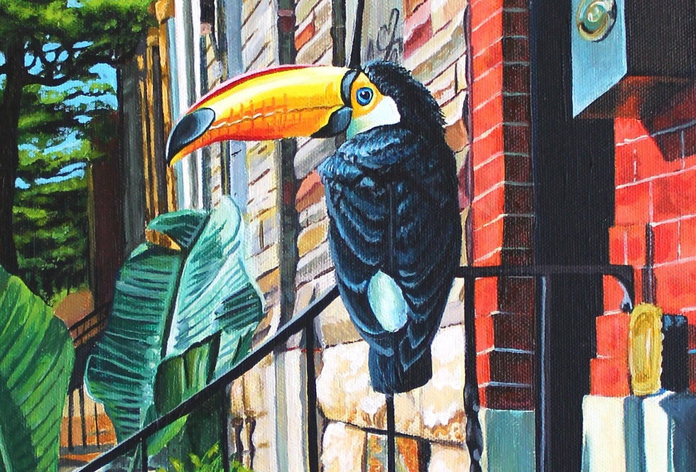 (Untitled) Toucan, Detail