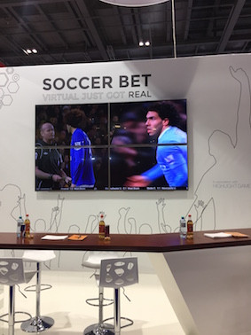ICE Soccer Bet Stand