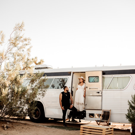 Kid Friendly Stays in Joshua Tree (Tiny Bus)