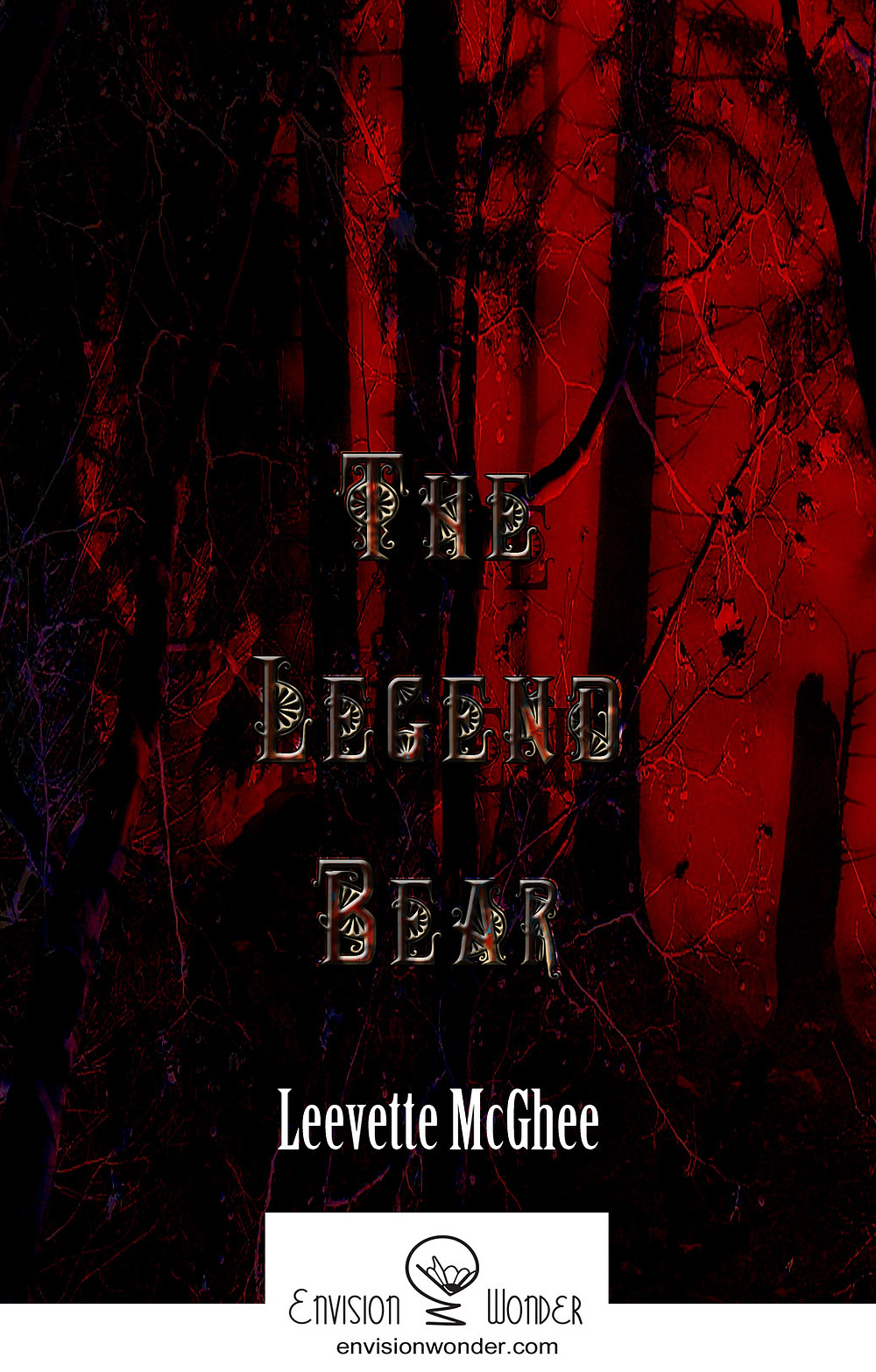The Legend Bear By Leevette McGhee, Working Cover 2016
