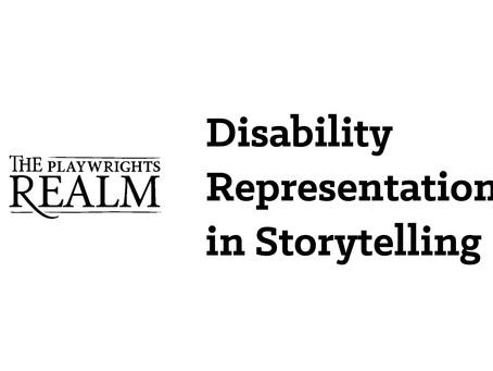Disability representation in Storytelling