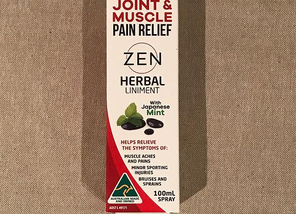 Joint & Muscle Pain Relief, Zen 100ml Spray