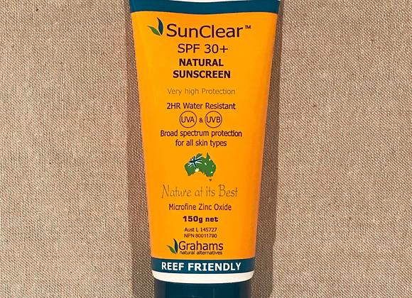 SunClear Natural Sunscreen 150g