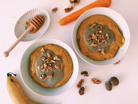 Recipe - Carrot Cake Smoothie Bowl