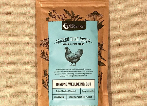 Chicken Bone Broth, Immune Wellbeing Gut, 100g