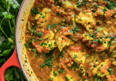 Easy Winter Moroccan Chicken Stew