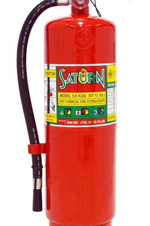 เครื่องดับเพลิงชนิดผงเคมีแห้ง Model: 6.8 kgs. (ST-15lbs) 6A20B