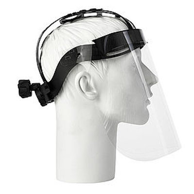 Face protection Head Mounted Face Cover