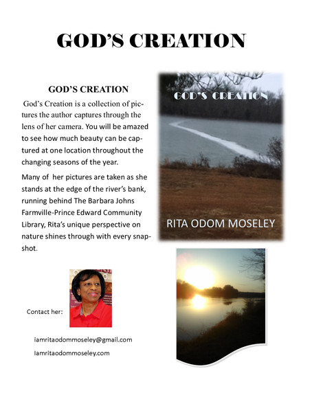 God's Creation Flyer