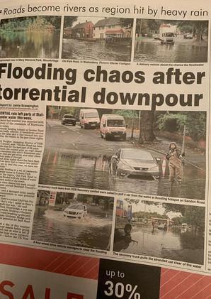 Express & Star Stafford Floods