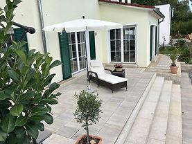 Terrassen Garten Pflasterbau Rollrasen Baggerarbeiten Platten